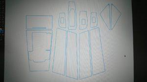 マツダ3のインナーパーツにプロテクションフィルムを貼る!の巻 #インナー保護用プロテクションフィルム #ピラー保護用プロテクションフィルム